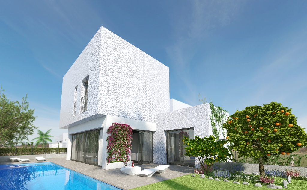 New build townhouses in San Miguel de Salinas, new community with gardens and communal pool. You ca,Spain