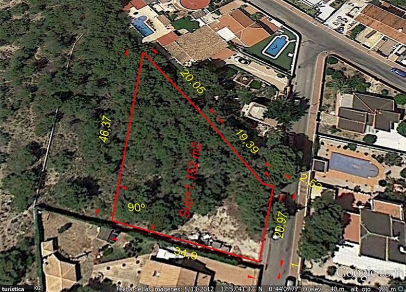 Земельный участок в Los Balcones, Torrevieja